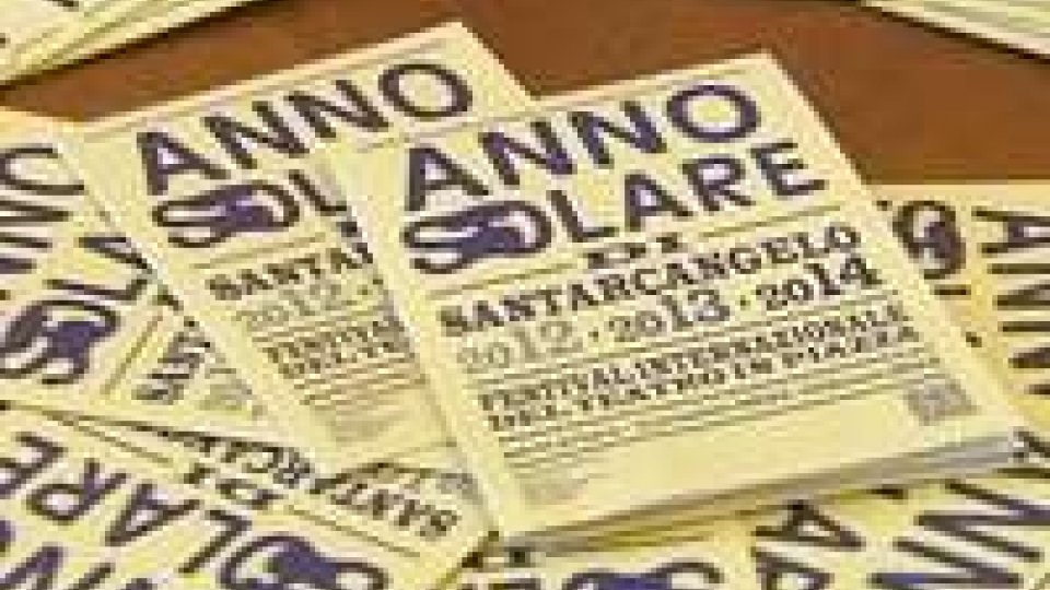 ANNO SOLARE: Santarcangelo Festival tutto l'annoANNO SOLARE: Santarcangelo Festival tutto l'anno