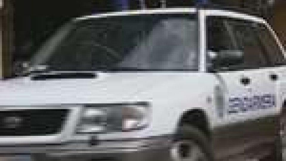 Sequestrata auto sammarinese guidata da ucraino