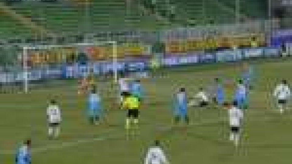 Cesena e Catania pareggiano 1–1