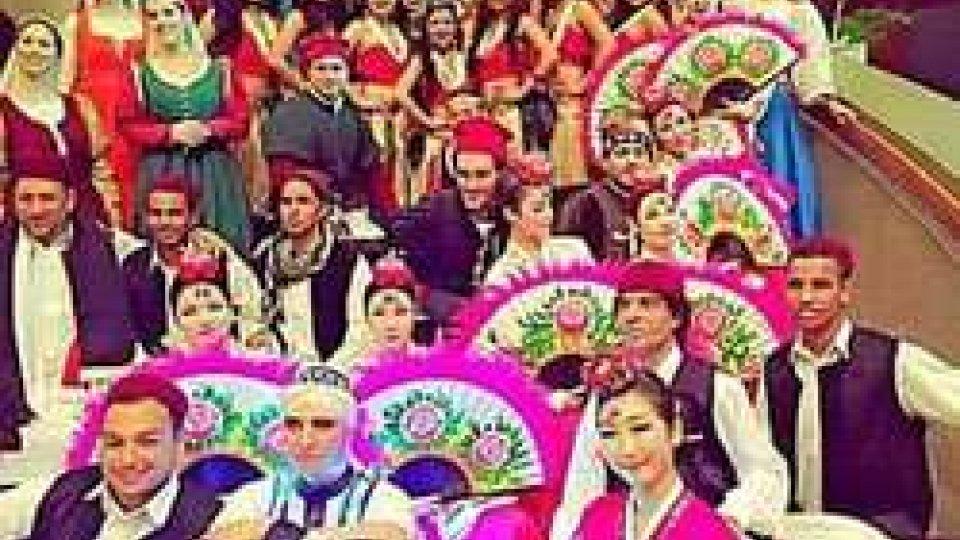 """""""I Fanciulli e la Corte di Olnano"""" alla """"Fiesta Folkloriada"""" a Manila"""