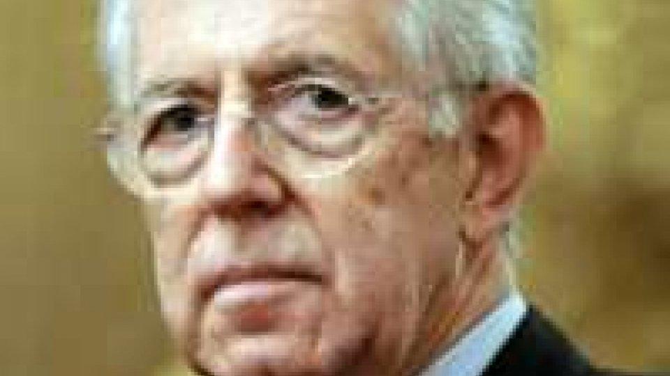 """Mario Monti: """"Occorre fare di più per la crescita"""""""
