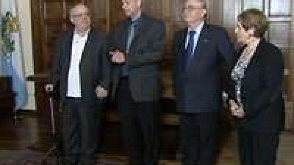 La delegazione israeliana in visita sul Titano, luogo neutrale di scambio e dialogoLa delegazione israeliana in visita sul Titano, luogo neutrale di scambio e dialogo