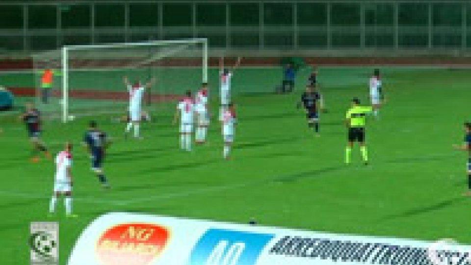 Imolese RiminiL'Imolese cala il tris, Rimini sconfitto 3-1
