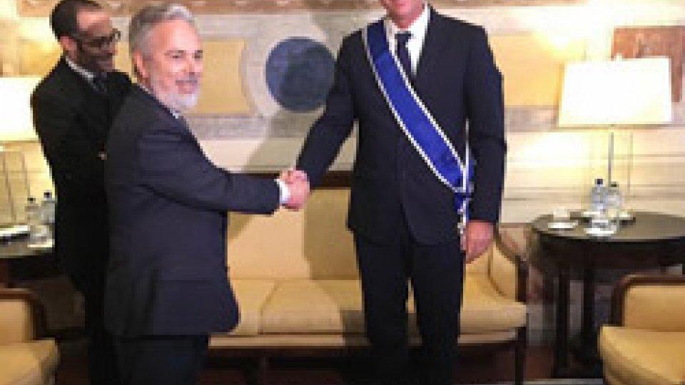 Ambasciatore Francini riceve onorificenza dell'Ordine del Rio Branco