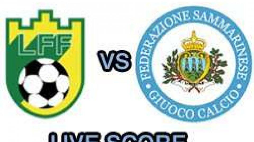 Lituania-San Marino - live score
