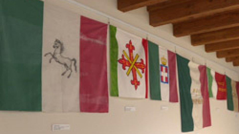 """La mostraLe """"Bandiere del Risorgimento"""" in mostra a Palazzo Graziani"""