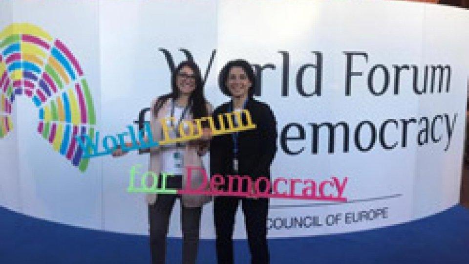 "Consiglio d'Europa, Strasburgo. World Forum for Democracy - ""Gender Equality: Whose Battle?"""
