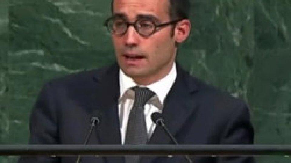 Il Segretario Renzi all'Assemblea Generale delle Nazioni Unite
