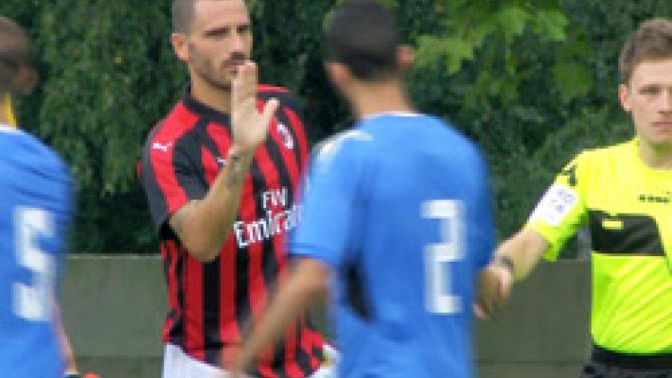Milan-NovaraMilan-Novara con Elia Benedettini in campo