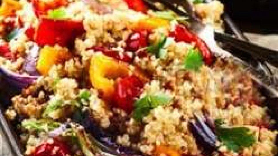 Cucina Veg: QUINOA TRICOLORE AL PROFUMO DI TIMO FRESCO