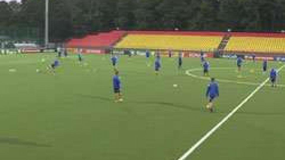 la rifinitura della NazionaleLituania e San Marino. Ieri sera la consueta rifinitura della Nazionale sul terreno di gioco ufficiale