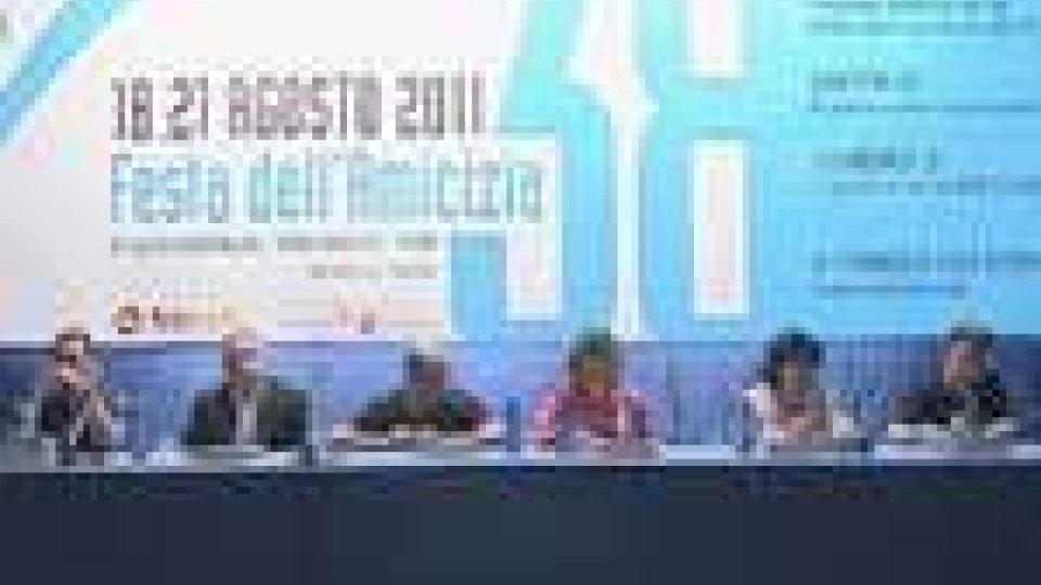 San Marino - La politica estera apre il primo dibattito alla 38 esima festa dell'amicizia