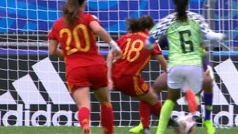Spagna-NigeriaMondiale Under 20 Femminile: Francia e Spagna accedono alle semifinali