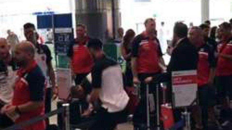La Folgore in aeroporto