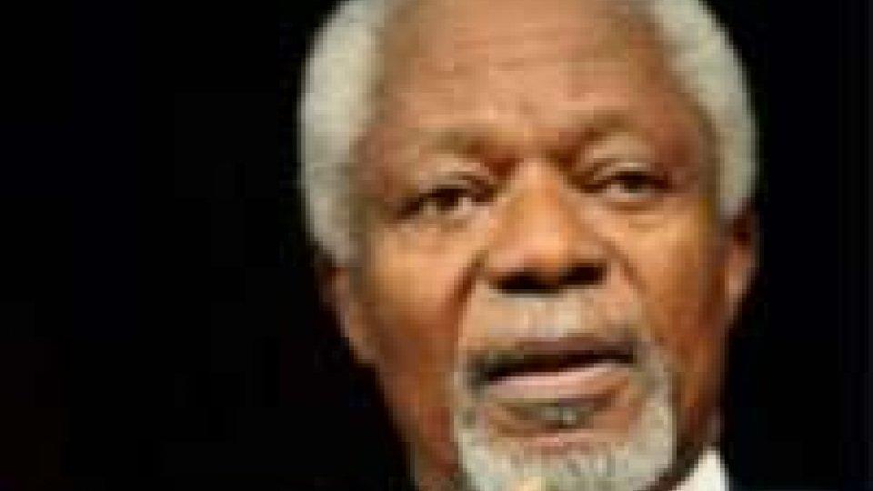 Siria: Kofi Annan inviato speciale Onu-Lega Araba