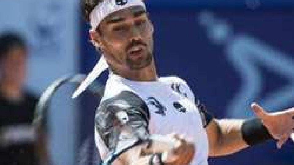 Tennis: Fognini si ferma in semifinale a Kitzbuhel