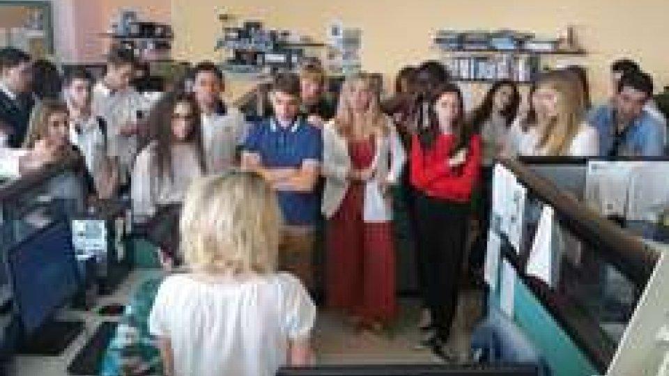 RTV: ci sono venuti a trovare gli studenti dell'International School of Vienna