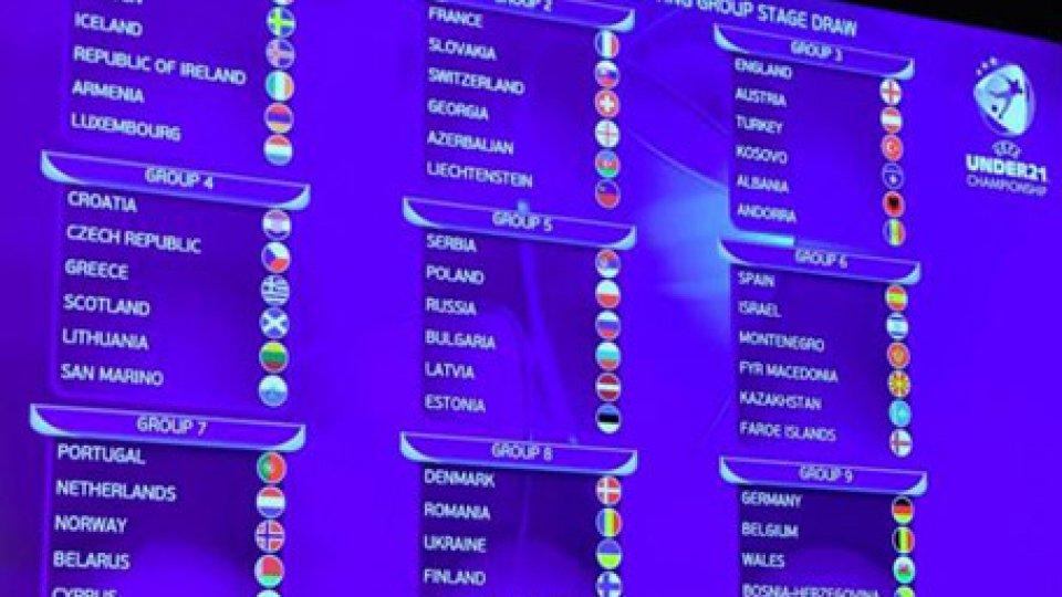 Europei U21: ancora la Croazia per San Marino