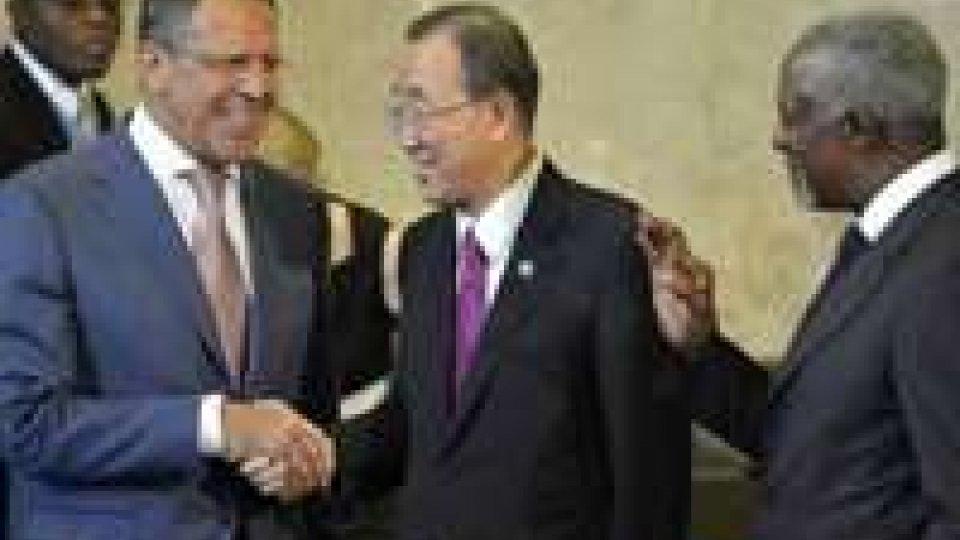 """Siria, Ban Ki-moon su armi chimiche: """"Autorità siano flessibili"""""""