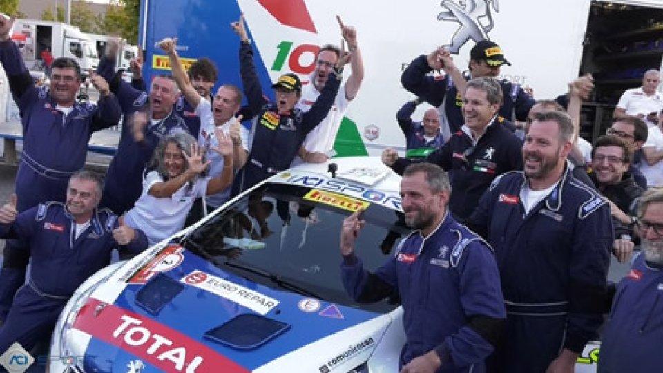 Paolo Andreucci è Campione d'ItaliaRally: Paolo Andreucci è Campione d'Italia per l'11esima volta