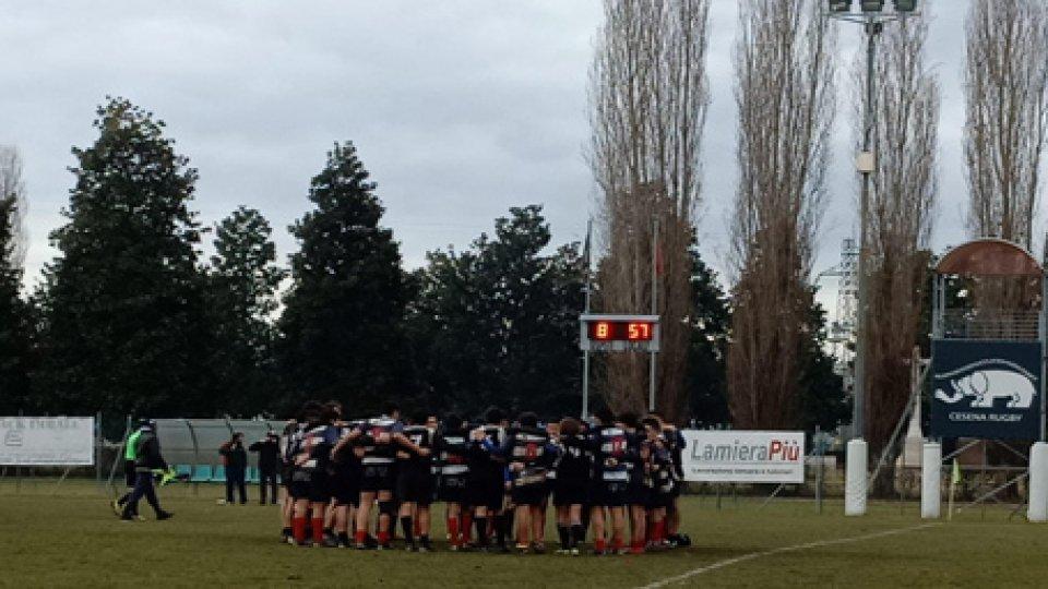 Rugby, i sammarinesi del Cesena U16 fanno furore nel regionale