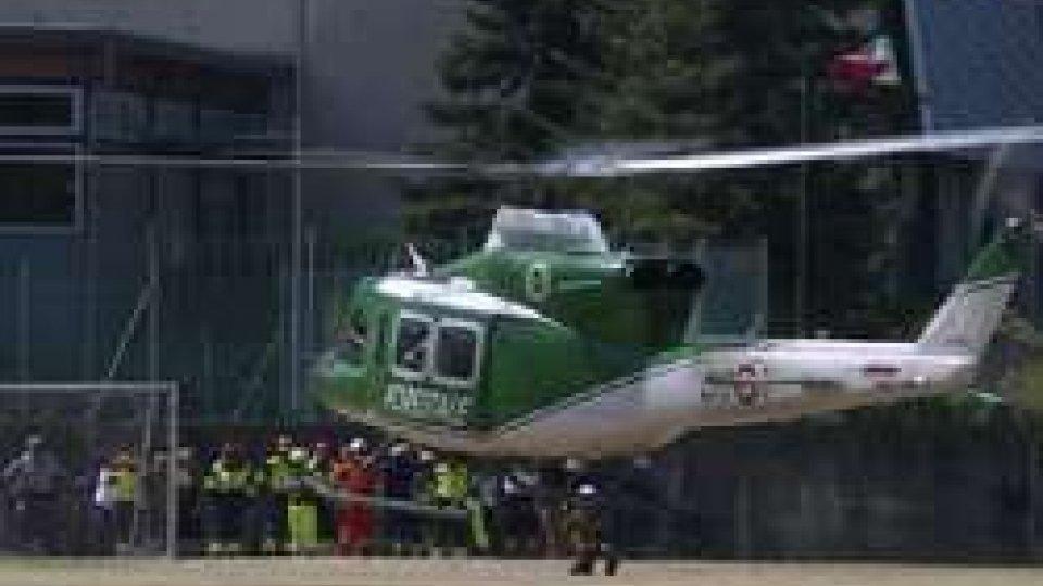 San Marino-Italia, emergenza simulata: oggi l'esercitazione in elicottero per contrastare gli incendi boschivi