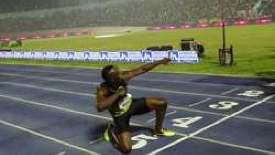 Usain Bolt verso la fine della sua carriera