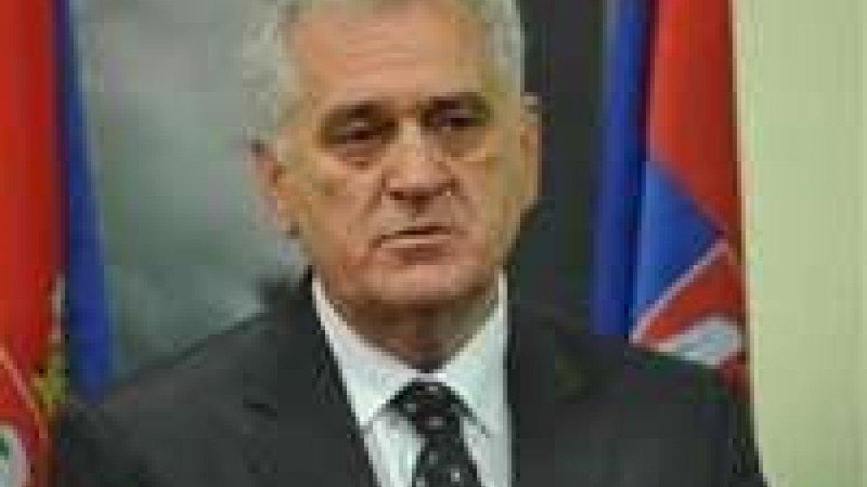 """Nikolic: """"La Serbia non accetterà mai indipendenza del Kosovo"""""""