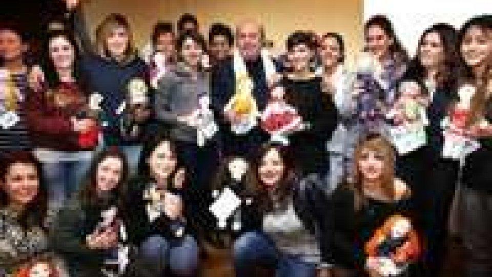 San Patrignano per l'Unicef: realizzate 60 bambole Pigotte