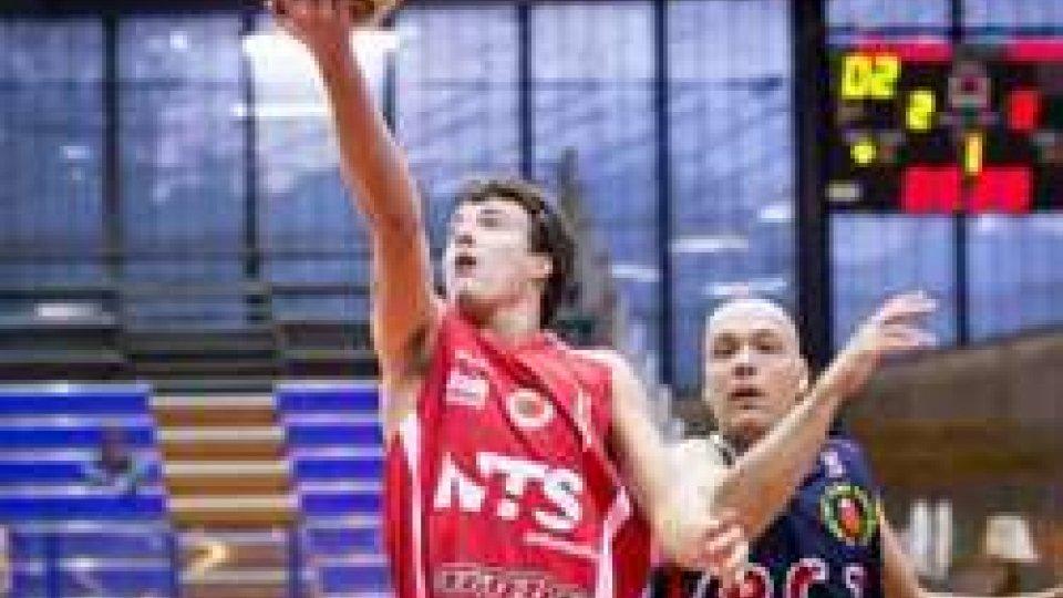 Basket. Allianz Pazienza Cestistica San Severo - NTS Informatica Rimini 77-58