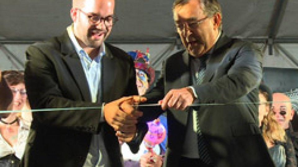 Il taglio del nastro del San Marino Comics[VIDEO] San Marino Comics: taglio del nastro per la quinta edizione del festival del fumetto