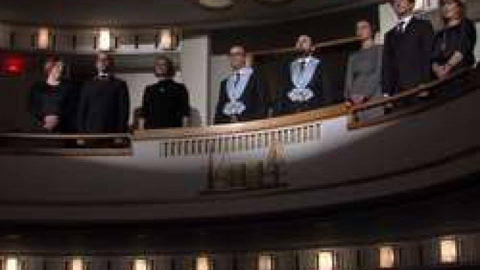 I Capitani Reggenti al Teatro TitanoAl Titano la commedia di Sant'Agata: 46 anni di spettacolo