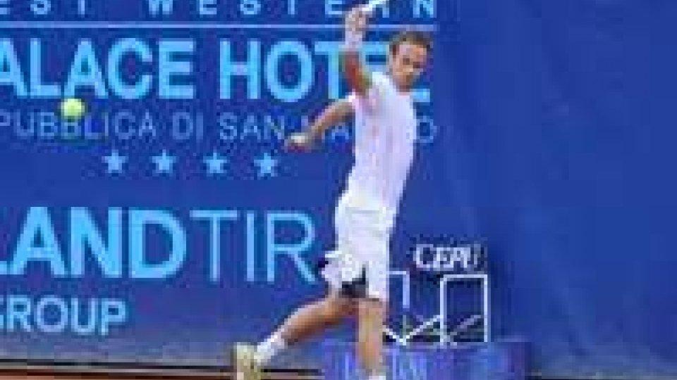 Tennis: Volandri batte Quinzi davanti a 2milla personeTennis: Volandri batte Quinzi davanti a 2milla persone