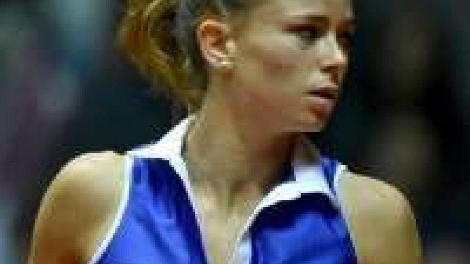Tennis, Fed Cup: sconfitta la Giorgi, Italia-Francia 2-2