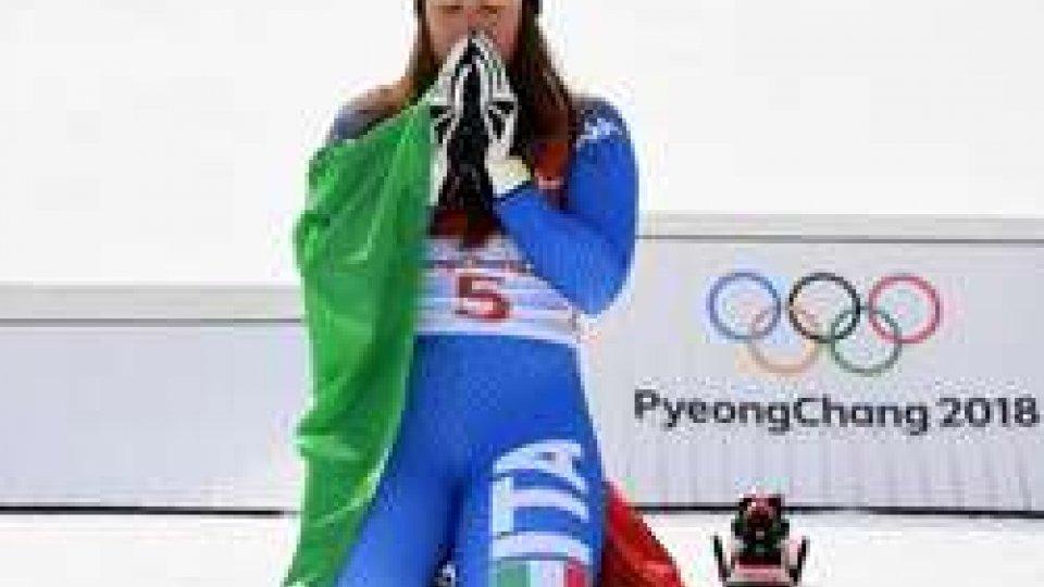 Sofia GoggiaPyeongchang 2018: una Goccia d'oro in discesa libera