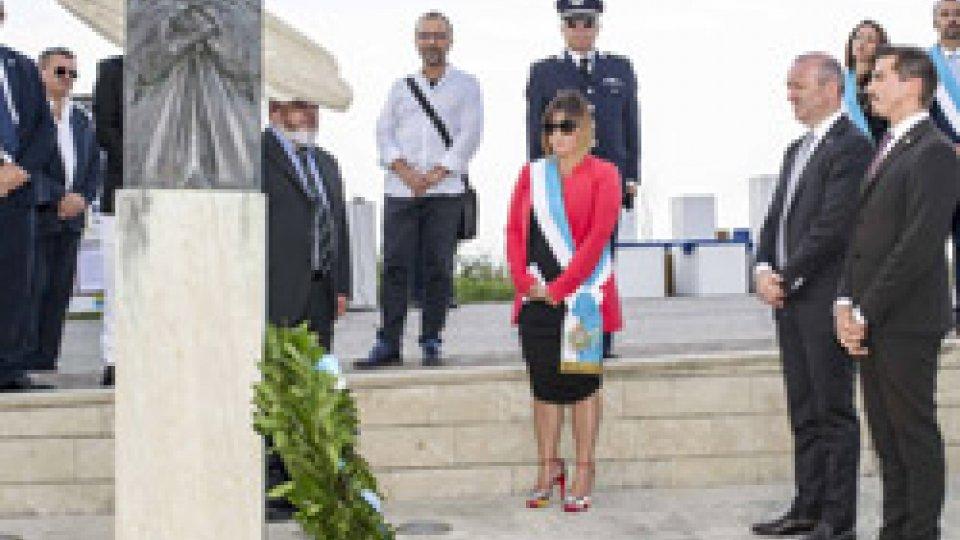 Lettera dell'autore del Cippo di Montepulito alla Comunità di Faetano
