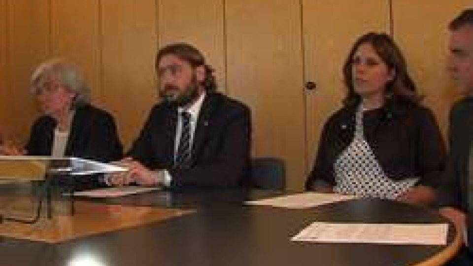 Conferenza stampa Commissioni antimafiaCommissioni Antimafia Italia e San Marino tracciano la strada per una collaborazione più assidua