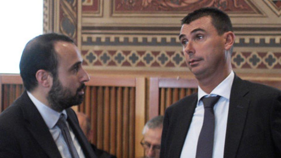 I consiglieri Carattoni e Mancini