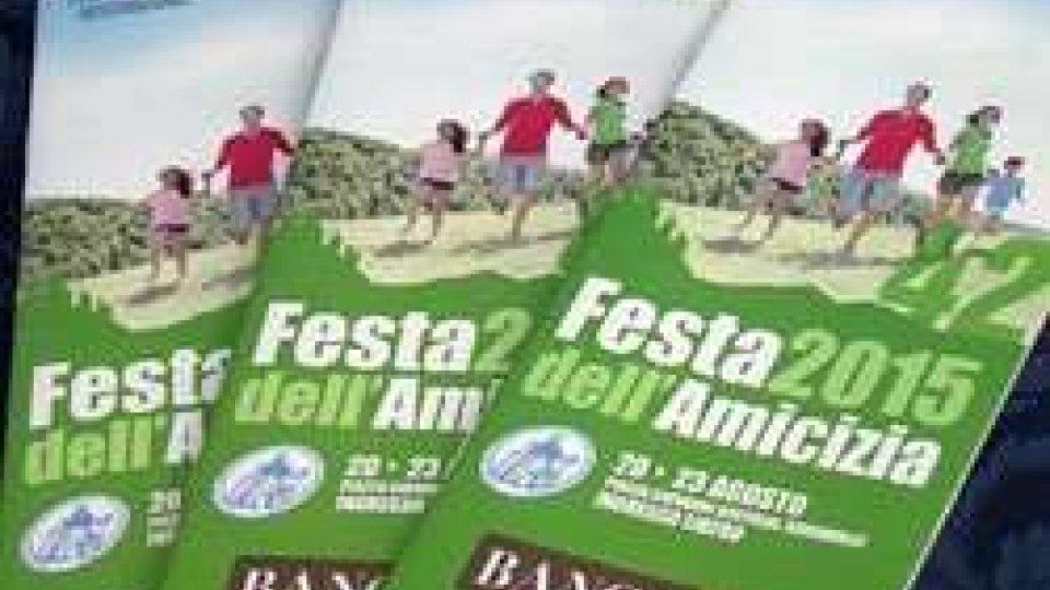 42a Festa dell'Amicizia, dal 20 al 23 agosto in Piazza Bertoldi