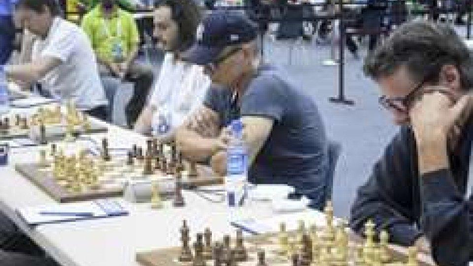 Da destra Paul  Rossini, Enrico Grassi, Massimiliano Maccapani, Danilo Volpinari