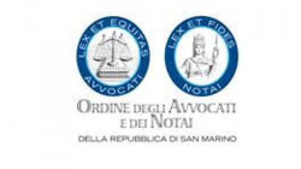 Ordine Avvocati e Notai: replica al Segretario di Stato al Territorio