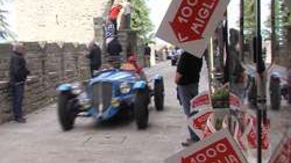 Mille Miglia a San MarinoMille Miglia: a Brescia vince l'Alfa Romeo