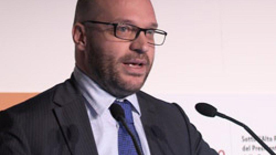 """Il ministro Lorenzo FontanaIl ministro Lorenzo Fontana a San Patrignano per i """"WeFree Days"""": lotta e prevenzione contro le droghe"""