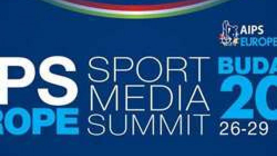 L'Associazione Sammarinese Stampa Sportiva a Budapest per  AIPS EUROPE MEDIA SUMMIT 2017 26 – 28 marzo