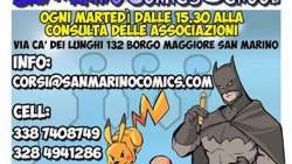 Ritorna la scuola di fumetto di San Marino Comics
