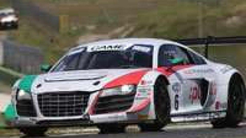 Audi Sport Italia, primi punti per Emanuele Zonzini