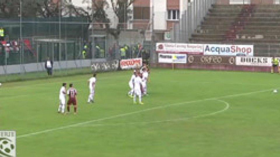 Sano - Sambenedettese 1-1Serie C: Fano e Samb non si fanno male, è 1-1 nel derby