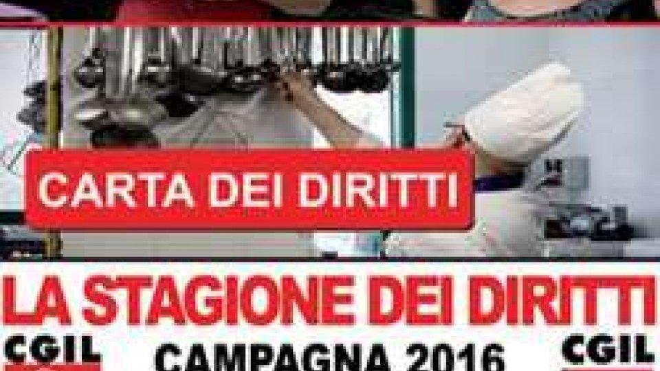 La stagione dei Diritti. La campagna CGIL e FILCAMS 2016