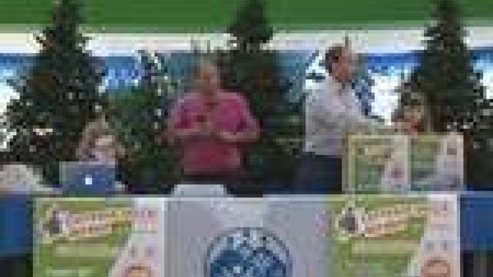 San Marino - Estratti i vincitori della Lotteria della Befana