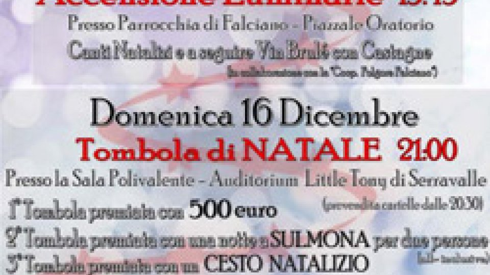 Serravalle: Vivi il Natale 2018
